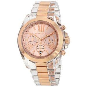 Bradshaw Chronograph Rose Dial Ladies MK watch